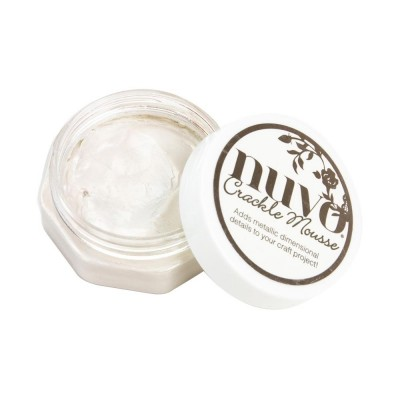 Nuvo - Crackle Mousse «Russian White»
