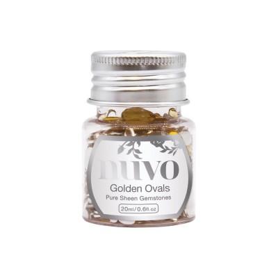Nuvo - Embellissement «Pure Sheen Gemstones» couleur « Golden Ovals»