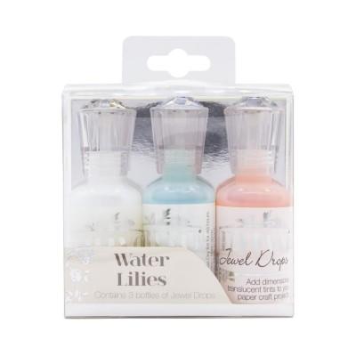 NUVO - Jewel Drops ensemble « Water Lilies»