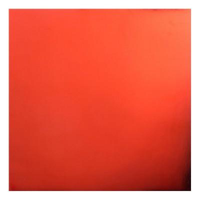 """Bazzill Foil Cardstock 12""""X12"""" couleur rouge brillant"""