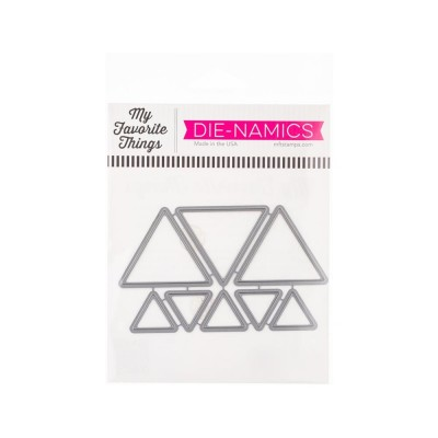 My Favorite Things - Dies «Trendy Triangles» 8 pcs
