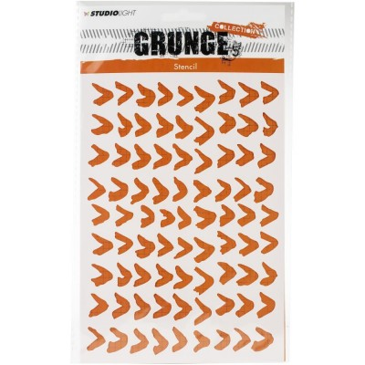 Studio Light - Stencil A5 collection «Grunge #16»
