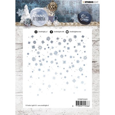 Studio Light - Estampe collection «Snowy Afternoon #401»