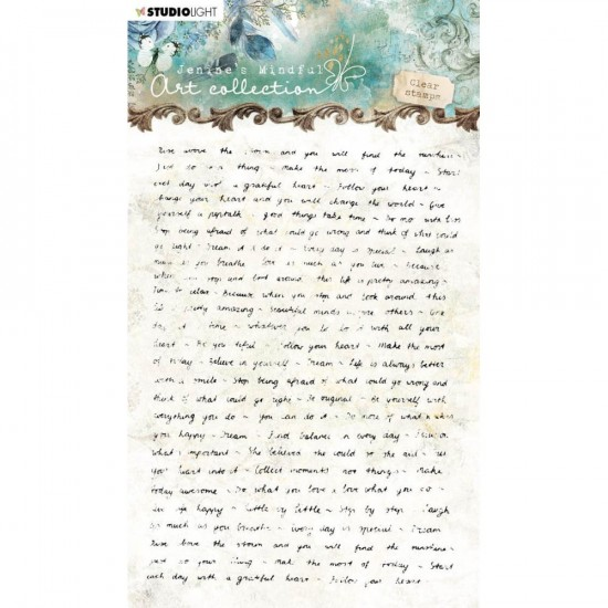 Studio Light - Estampe collection «Jenine's Mindful Art NR. 01»