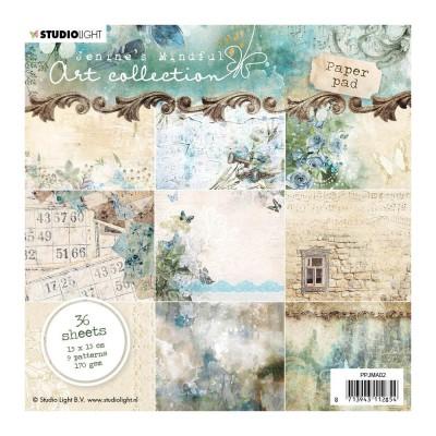 "Studio Light - Bloc de papier «Jenine's Mindful Art» 6"" X 6""  36 feuilles"