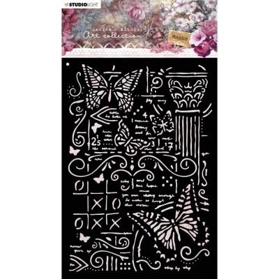 PRÉCOMMANDE- Studio Light - Stencil A6 collection 3.0 «Jenine's Mindful Art NR.06»