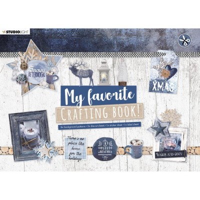 Studio Light - Ensemble «My Favorite Crafting Book» modèle «Snowy Afternoon»