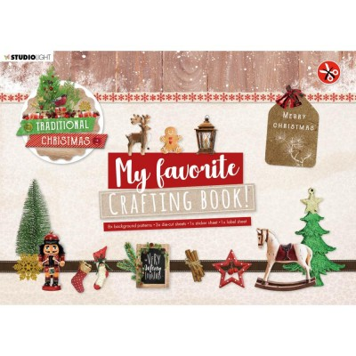 Studio Light - Ensemble «My Favorite Crafting Book» modèle «Traditional Christmas»