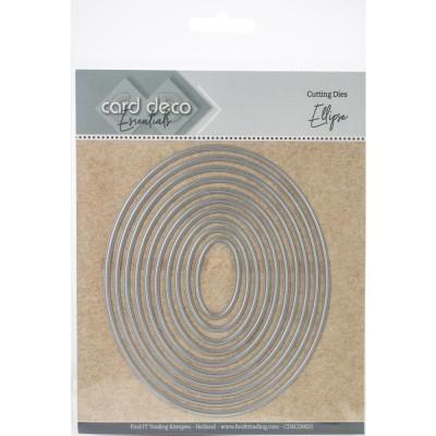 Find It - Dies «Trading Card Deco Essentials» modèle  «Ellipse» 10 pcs