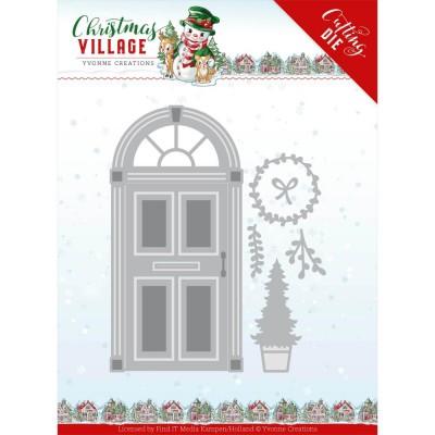 Find It - Matrice de découpe modèle «Christmas Door» 6 pcs