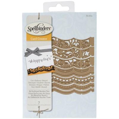 Spellbinders - Dies modèle «Scalloped Borders» paquets de 7
