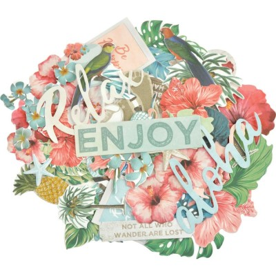 Kaisercraft - Cardstock Die-Cuts Collection «Paradise Found»