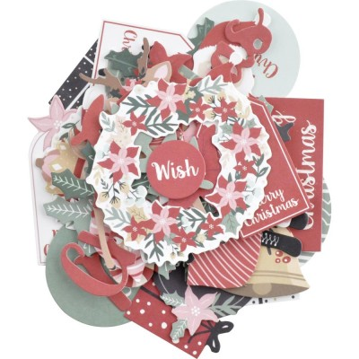 Kaisercraft - Cardstock Die-Cuts Collection «Peppermint Kisses»