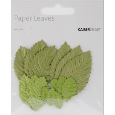 Kaisercraft - Ensemble «Paper Leaves» 15 pqt