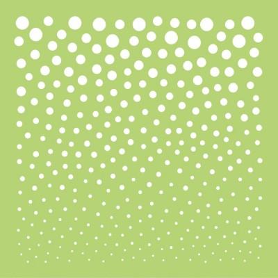 """Kaisercraft - Stencil «Fading Dots» 12"""" X 12"""""""