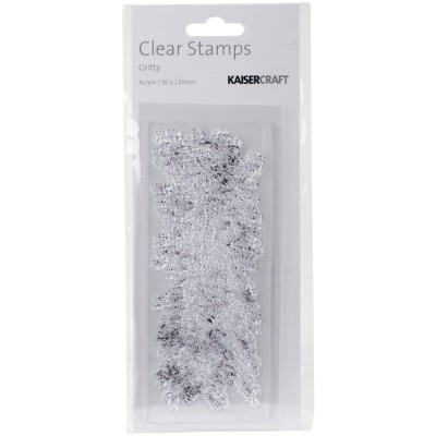 "Kaisercraft - Clear Stamp «Gritty» 2""X5"""