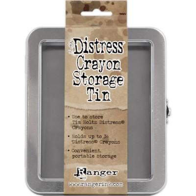 Tim Holtz - Boîte de rangement en métal «Distress Storage Tin»