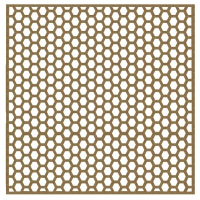 "Creative Embellishments - Chipboard «8"" Hexagon panel»"