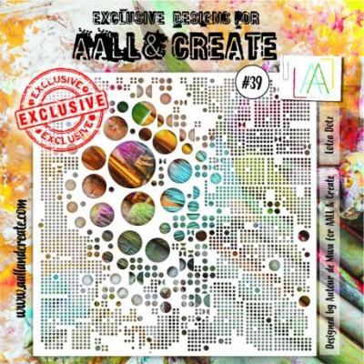 "AALL and Create - Stencil «#039»  taille 6"" x 6"""