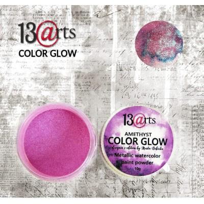 13 Arts - Peinture aquarelle métallisée «Color Glow Amethyst»