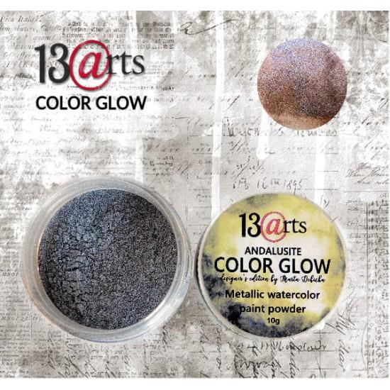 13 Arts - Peinture aquarelle métallisée «Color Glow Andalusite»