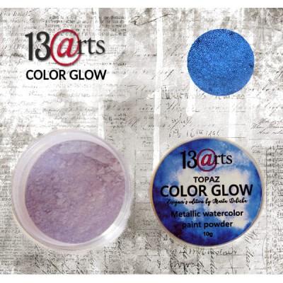 13 Arts - Peinture aquarelle métallisée «Color Glow Topaz»