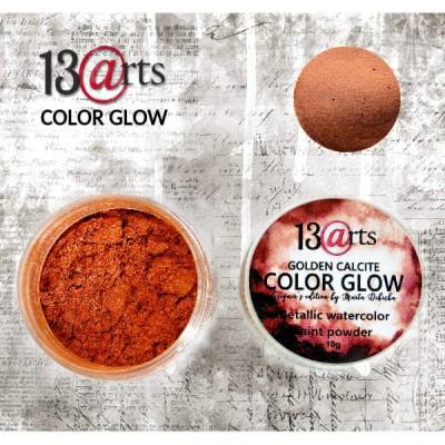 13 Arts - Peinture aquarelle métallisée «Color Glow Golden Calcite»
