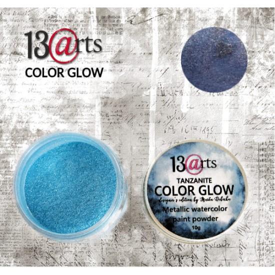 13 Arts - Peinture aquarelle métallisée «Color Glow Tanzanite»