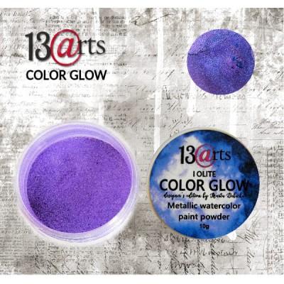 13 Arts - Peinture aquarelle métallisée «Color Glow Iolite»