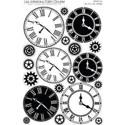 Créations ÉC - Dessins Cartonnés «Au fil du temps»