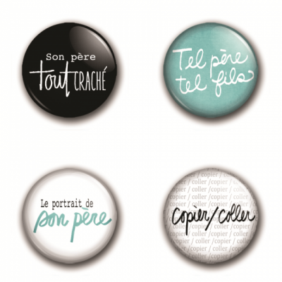 MC Collection badge «Comme papa»