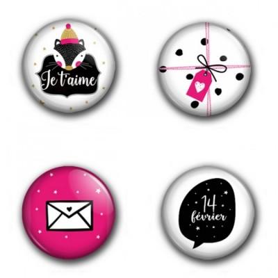 MC Collection badge «St-Valentin»