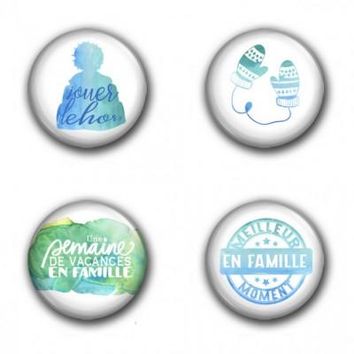 MC Collection badge «Hiver en famille»