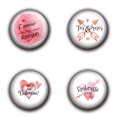 MC Collection badge «Saint-Valentin»
