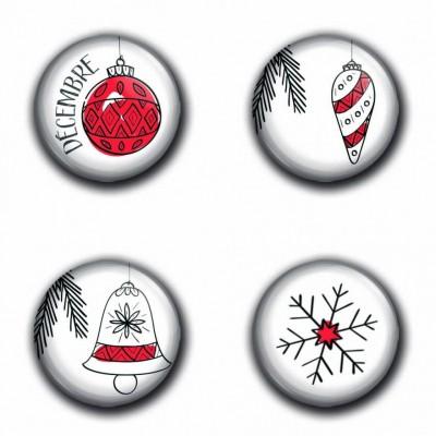 MC Collection badge «Badges Noël 01»