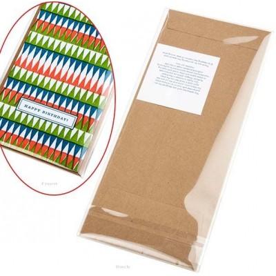 """ClearBag - Sacs transparents à rabat 4 5/16 """"x 9 9/16"""" paquet de 100"""