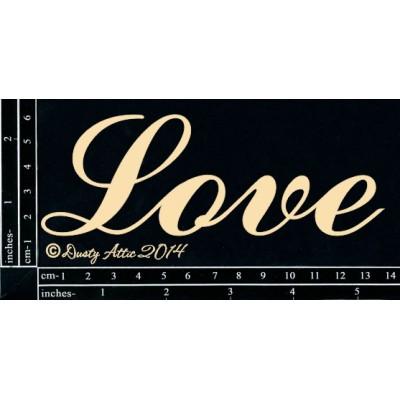 Dusty Attic - Chipboard  «Love»