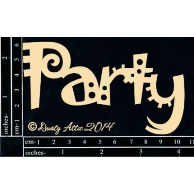 Dusty Attic - Chipboard  «Party»