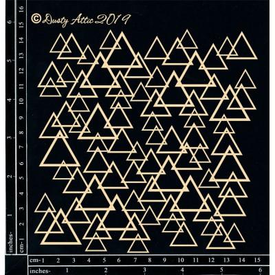 Dusty Attic - Chipboard  «Triangle Panel Small»