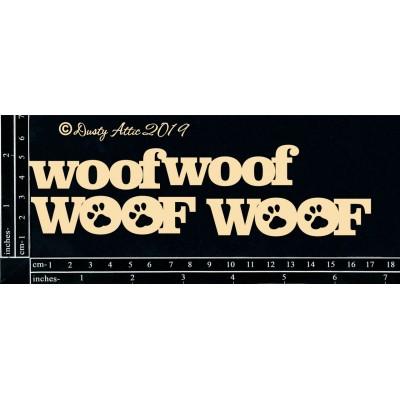 Dusty Attic - Chipboard  «Wouf Wouf»