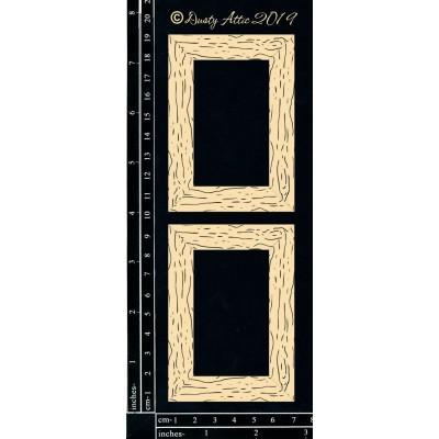 Dusty Attic - Chipboard  «Woodgrain Frames - Mini»