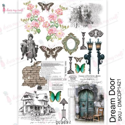 Dress my Craft - Transfer Me «Dream Door»