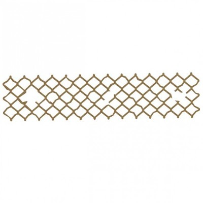 Creative Embellishments - Bordure «Distressed Chicken Wire»