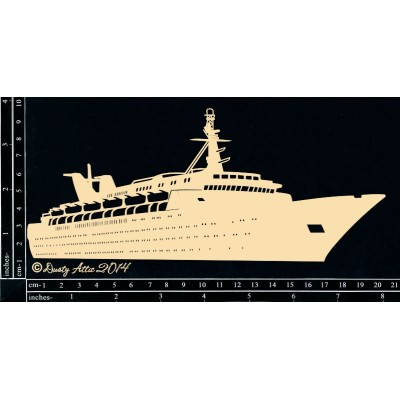 Dusty Attic - Chipboard «Cruise Ship»