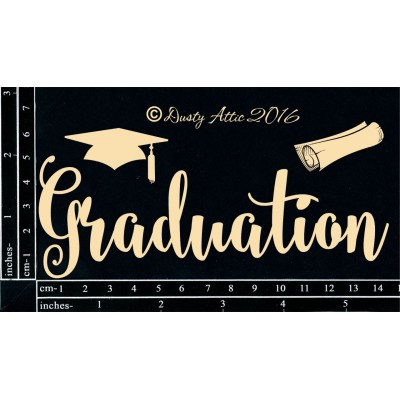 Dusty Attic - Chipboard «Graduation»
