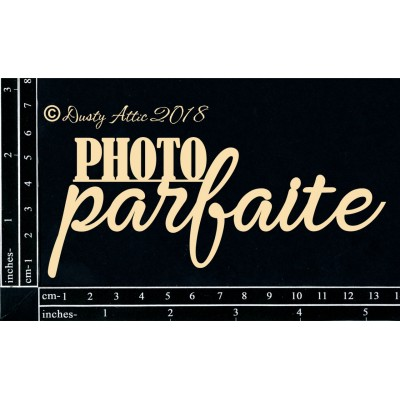 Dusty Attic - Chipboard «Photo parfaite»