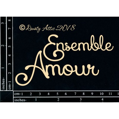 Dusty Attic - Chipboard «Ensemble Amour»