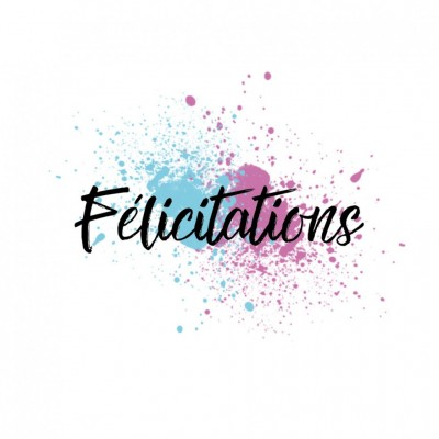 MC Collection-  Estampes «Félicitations 02»