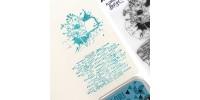 Florilèges Design - Estampes claires  «Fleur Étiquette» 2 pièces