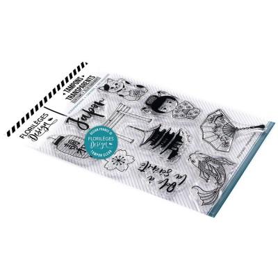 Florilèges Design - Estampes claires  «Japon» 10 pièces